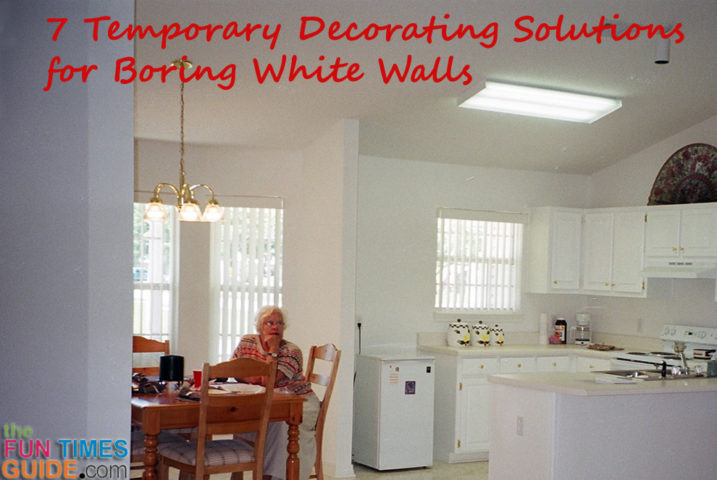White Wall Decor: 7 Temporary Decorating Solutions For Boring ...