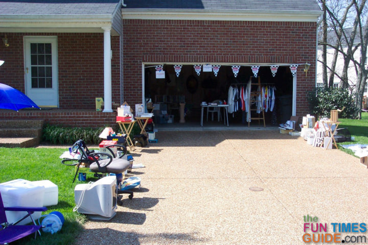 Fun Garage Thing : How to prepare for a yard sale things you need do