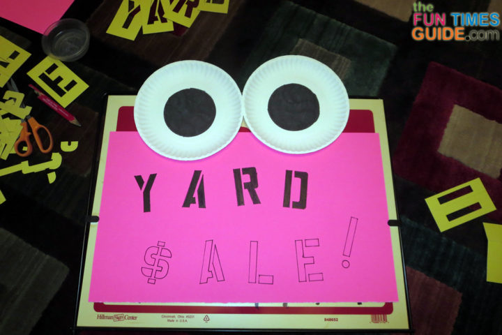 make a for sale sign