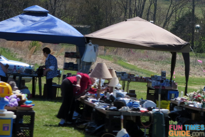 ... yard-sale-tent-canopy & How I Made $1013 At A Garage Sale - 101 Of My Very Best Yard Sale ...