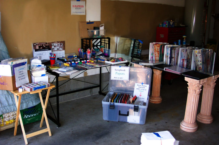 how to set up your yard sale space  u0026 display your items