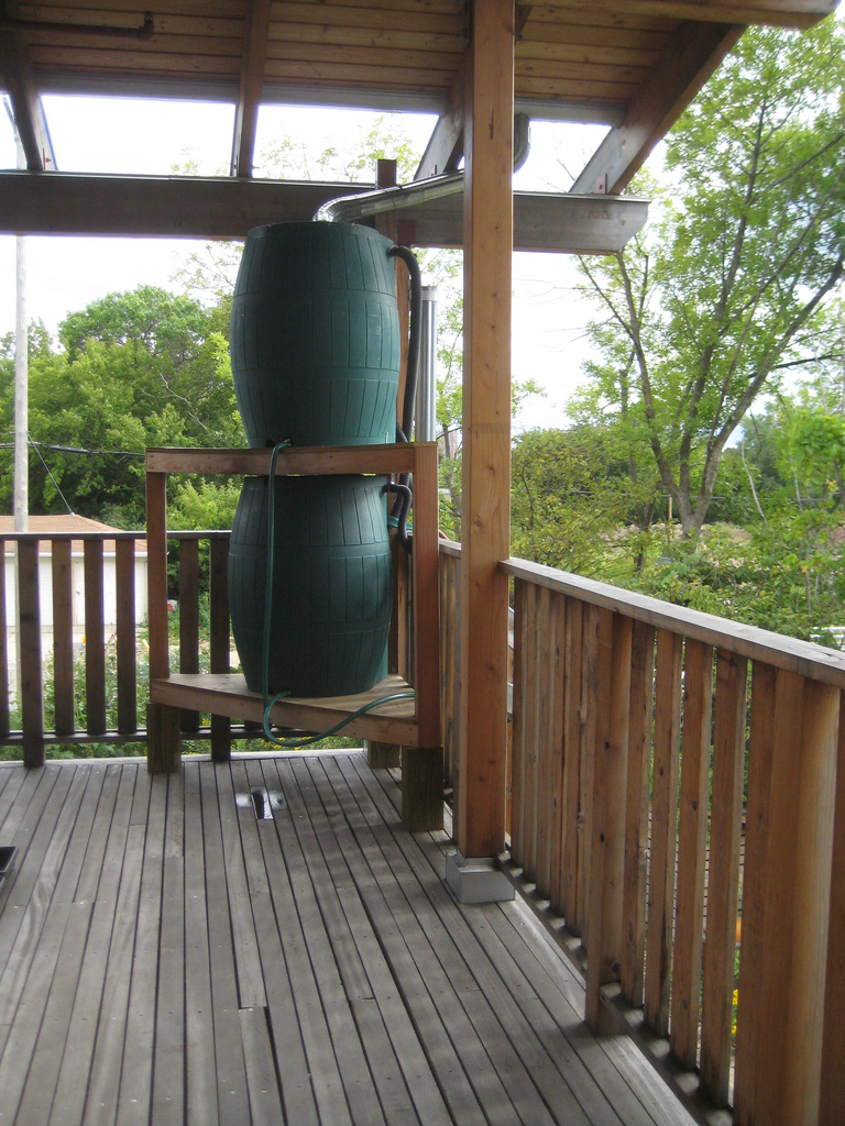 Video of a gravity spring fed water system (Permaculture Forums